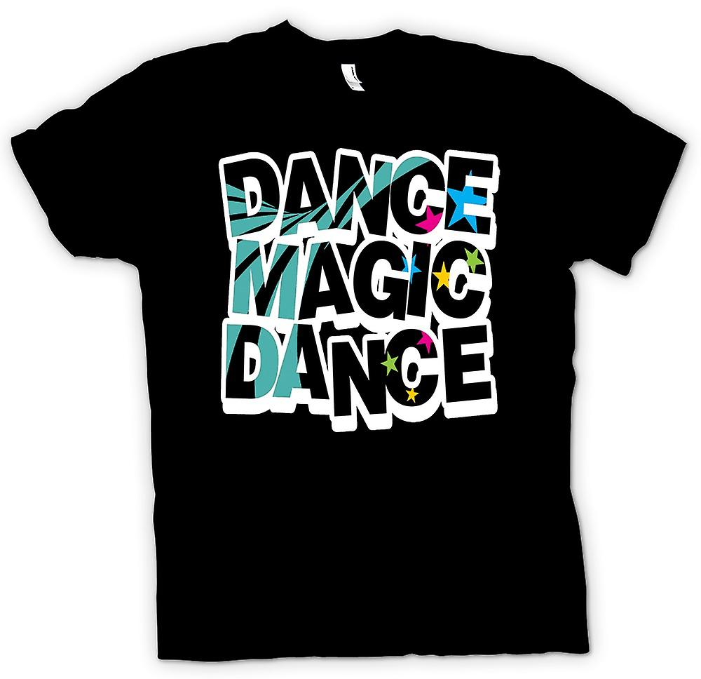 Heren T-shirt - Labryinth - dans Magic Dance - Funny