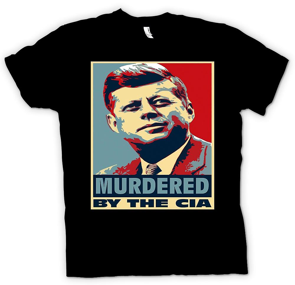 Womens T-shirt-JFK ermordet durch CIA