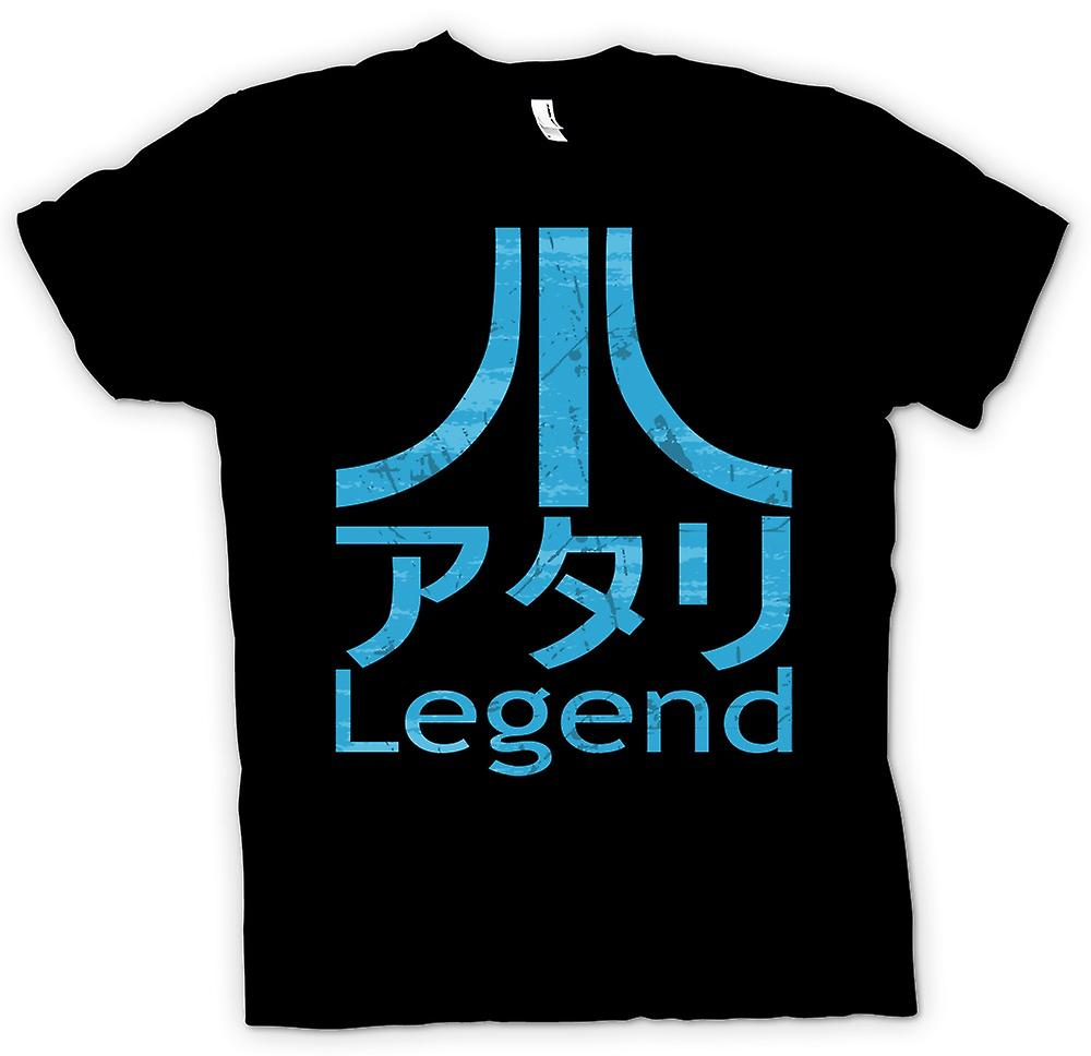 Mens T-shirt - Atari Legend Japanese - Gamer
