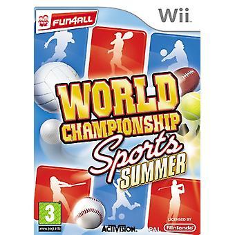 World Championship Sports Summer (Wii)