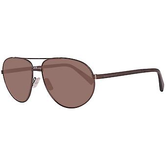Zegna sunglasses mens Brown