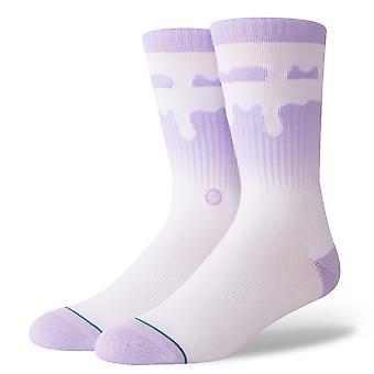 Stance Melt Down Socks - Lavender