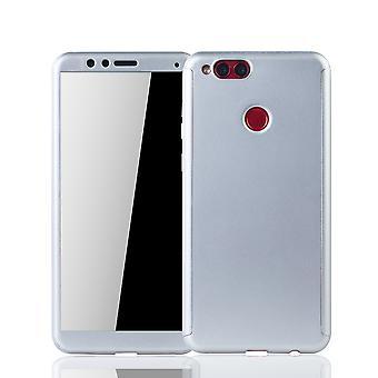 Huawei honor 7 X telefon fall fullt skydd tank skydd glas silver
