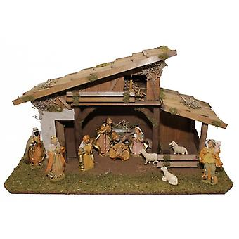 Crib NATALE wood crib Nativity Christmas Nativity stable