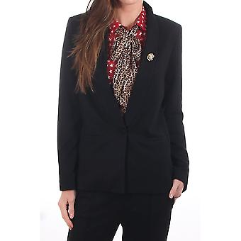 Maison Scotch Longer Length Blazer With Soft Gilter Finish