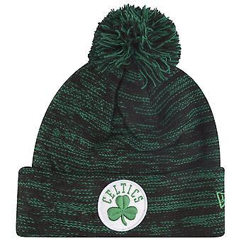 Nowa era zima Czapka Beanie MARGIEL BOBBLE - Boston Celtics