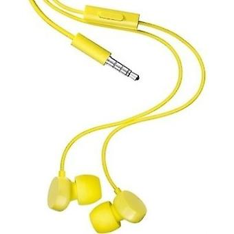 Original Nokia WH-208 3.5mm Stereo Headset Universal - Yellow