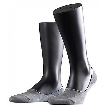 Unsichtbare Socken von Falke Schritt - hellgrau