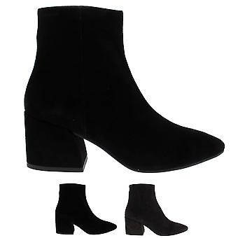 Womens Vagabond Olivia Suede Work Pointed Toe Fashion Winter Ankle Boots