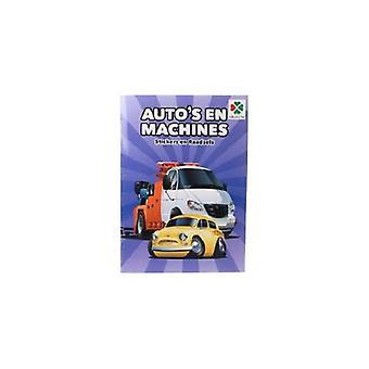 Selecta auto's&machines sticker-doeboek