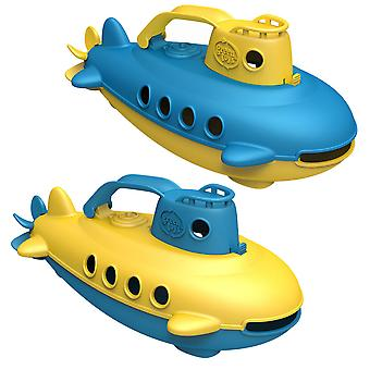 Green Toys Submarine Bath Water Toys BPA Free 100% Recycled