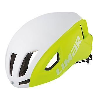 Limar air speed bike helmet / / white/yellow reflective matt