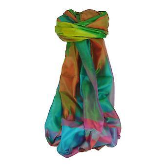 Nath Varanasi Ekal Premium seda largo bufanda patrimonio alcance 9 por Pashmina y seda