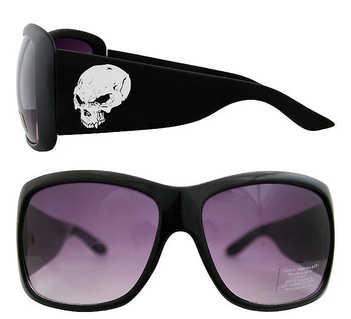 Waooh - zonnebril 910 - Design schedel Destroy - mount kleur - UV400 bescherming category 3 - zonnebril
