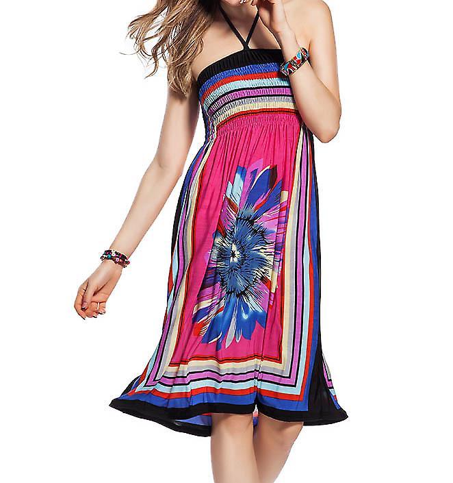 Waooh - Mode - Robe de plage imprimé fleur