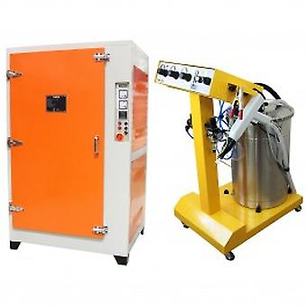 Powder Coating Bundle, Machine & Curing Oven