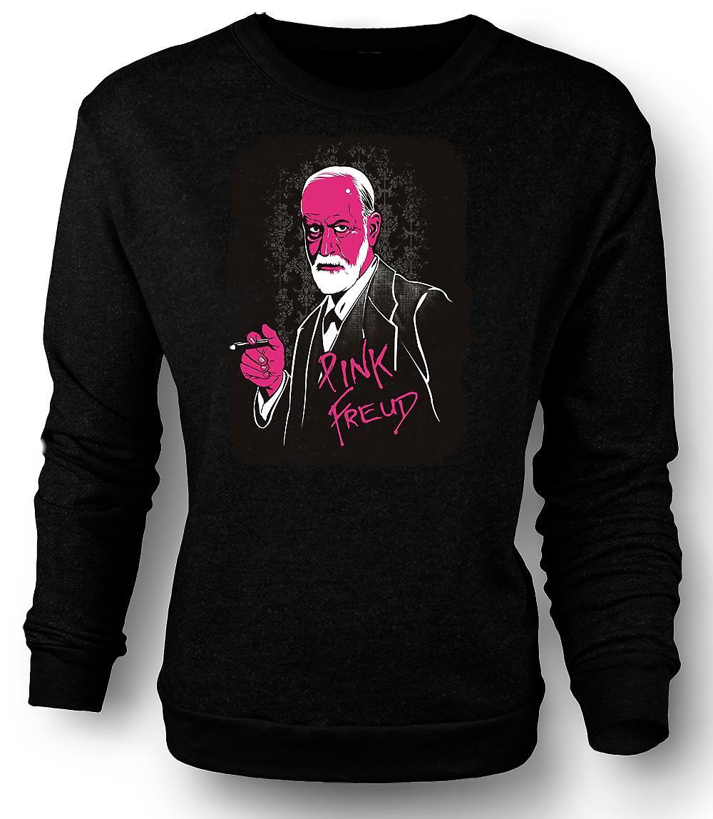 Mens Sweatshirt Pink Floyd - Sigmund Freud - Funny