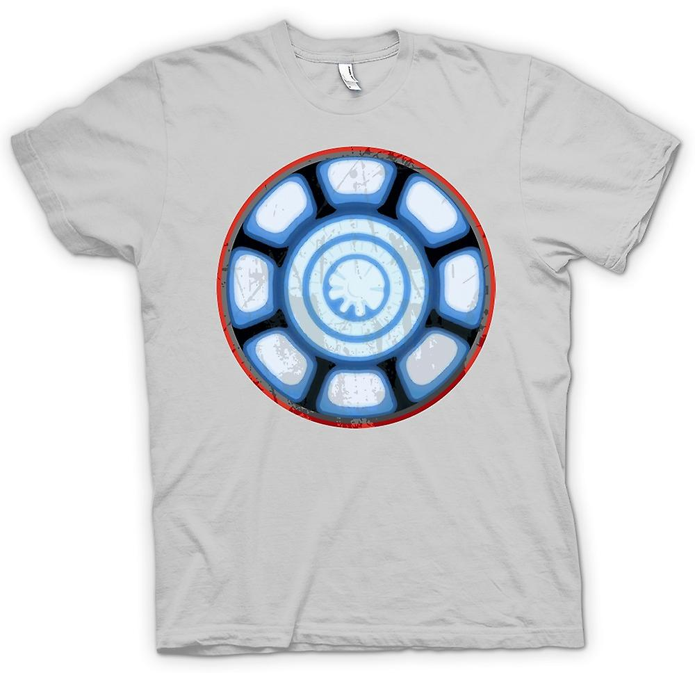 Mens T-shirt - Iron Man Arc Reactor Heart - Cool
