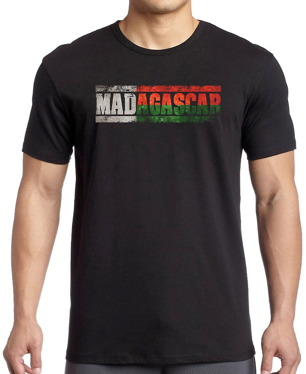 Madagascar_ Flag - Words T Shirt