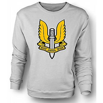 Mens Sweatshirt SAS Special Forces Badge