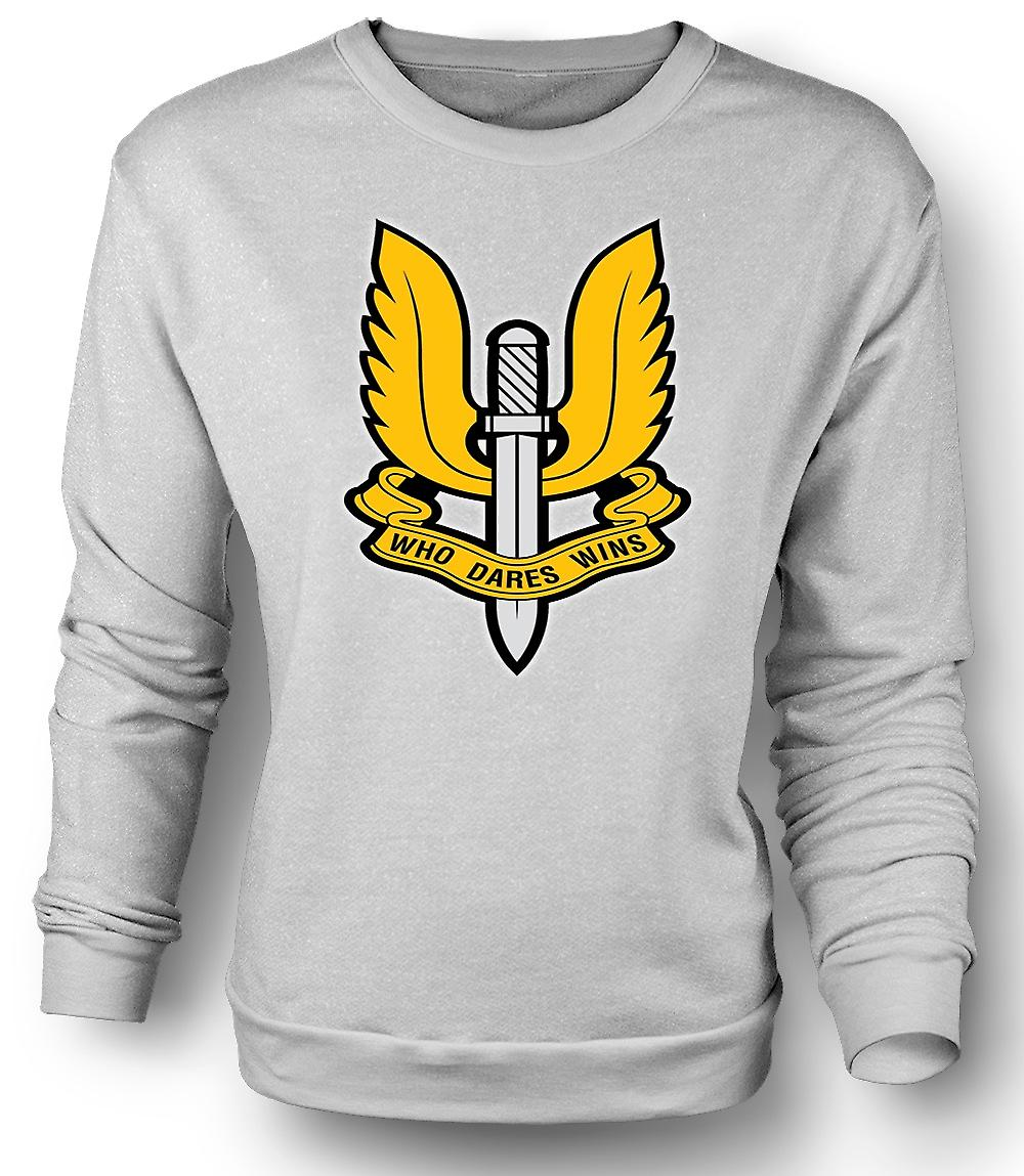 Badge de Forces spéciales SAS Mens Sweatshirt