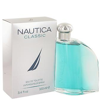 Nautica Classic by Nautica Eau De Toilette Spray 3.4 oz / 100 ml (Men)