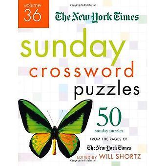 De New York Times zondag kruiswoordraadsels: 50 zondag puzzels van de pagina's van de New York Times