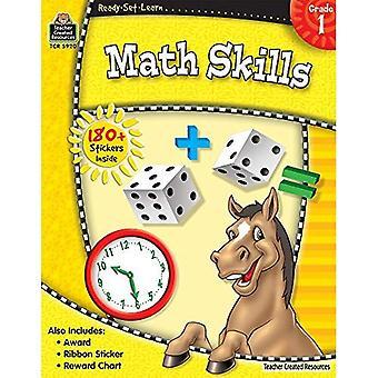 Compétences en mathématiques, Grade 1 [avec 180 + autocollants] (prêts-ensemble-apprendre)
