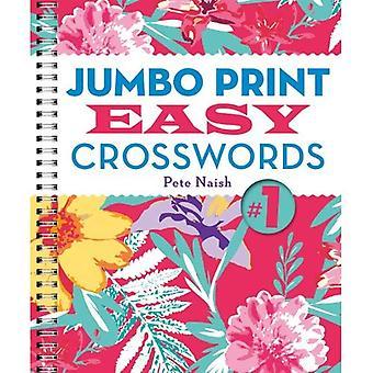 Jumbo skriva ut lätt korsord #1