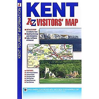 Kent Visitors Map (A-Z Road Map)