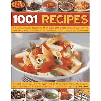 1001 Recipes: The Ultimate Cook's Collection of Delicious Step-by-step Recipes Shown in Over 1000 Photographs,...