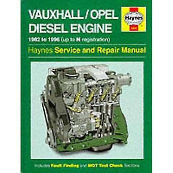 Vauxhall/Opel Diesel Engine Service and Repair Manual (Haynes Service and Repair Manuals)