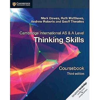 Cambridge International AS & A-niveau tænker færdigheder Coursebook