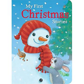 My First Christmas Stories [Board book]