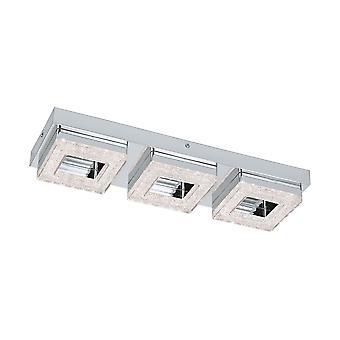 Eglo - LED de Fradelo Triple Plaza cristal techo montaje EG95656