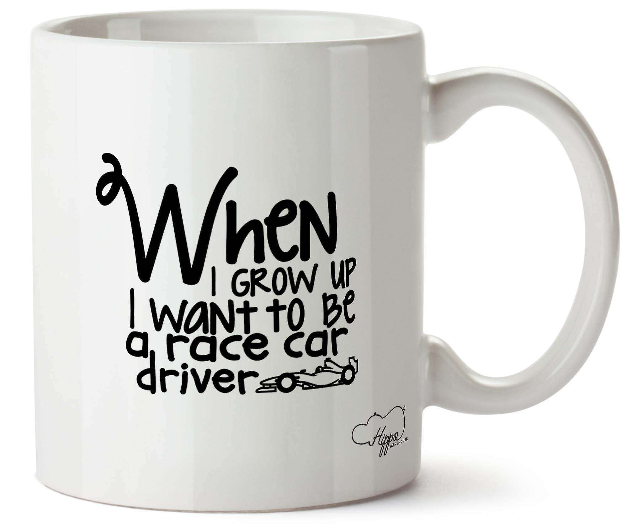 When I Tasse Céramique Be Imprimé En UpQu'i Hippowarehouse 10oz Grow To Want Un Automobiliste Ybf67gy