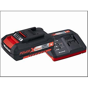 Einhell Power-X-Change batterij & lader Starter Kit 18 Volt 1 x 1.5Ah Li-Ion