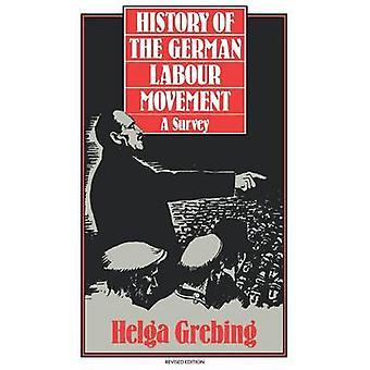 Histoire du mouvement ouvrier allemand A sondage par Helga & Grebing