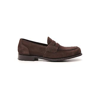 Church's Brown Leather Loafers
