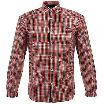 Fred Perry Men's Ogilvy Tartan Long Sleeve Shirt - M8285-943