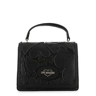 Love Moschino Women Black Handbags -- JC42496432