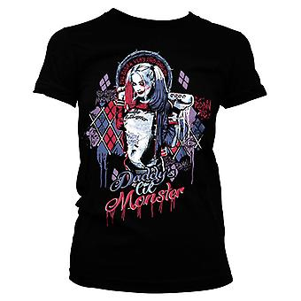 Women's Daddy's Lil Monster Very Bad Girl T-Shirt