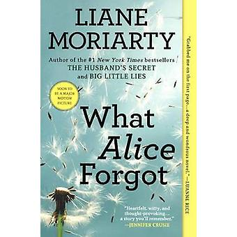 What Alice Forgot by Liane Moriarty - 9780606264556 Book