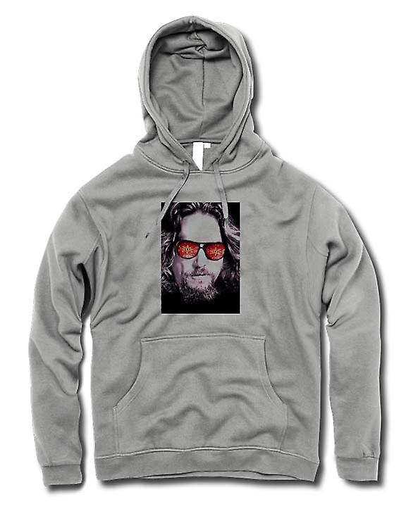 Mens Hoodie - broar - Big Lebowski - glasögon