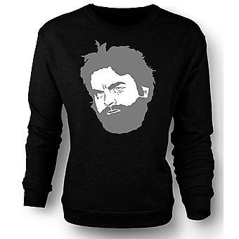Womens Sweatshirt Alan - en mann ulv Pack