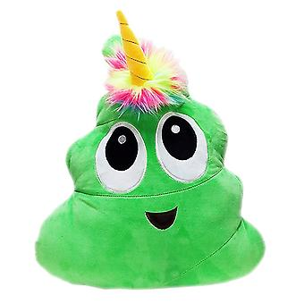 Poonicorn 40cm Plush Pillow - Green