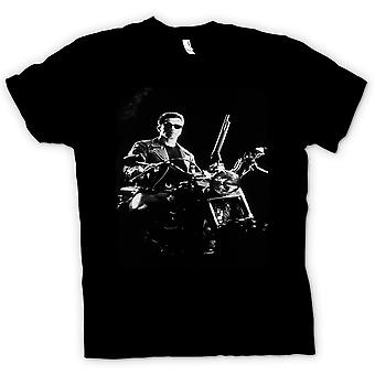 Mens T-shirt - Terminator - Schwarzenegger - Movie