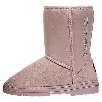 Girls Winter Boots Designed with Side Logo Embroidery