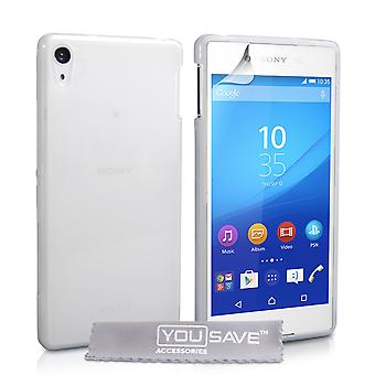YouSave Sony Xperia Z3 + Hard Case Crystal Clear