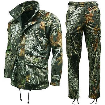 Mossy Oak Breakup Waterproof Hunting Jacket & Trousers - Recon